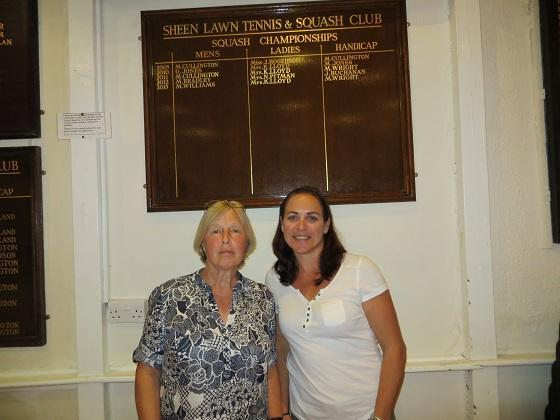 Ladies: Leanne Williams (right) 3 – Robin Jones 0
